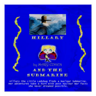 hillarysubmarineposter poster
