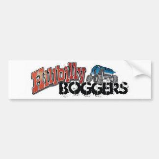 Hillbilly Boggers Bumper Sticker