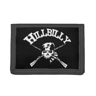 Hillbilly Crossbones Tri-fold Wallet