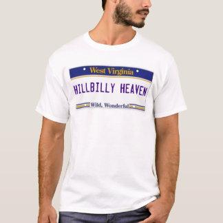 HILLBILLY HEAVEN WV LICENSE PLATE T-Shirt