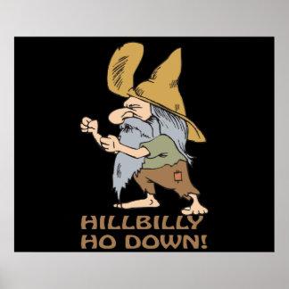 HillBilly Ho Down Print