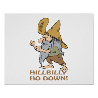 HillBilly Ho Down Posters