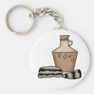 hillbilly-jug and hat key ring