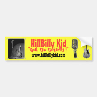 HillBilly Kid Bumper Sticker