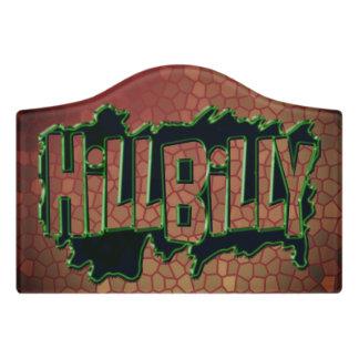 Hillbilly Sign