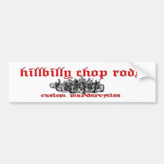 Hillbilly Sticker Bumper Sticker