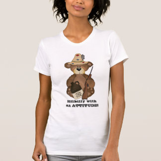 Hillbilly with an ATTITUDE! t-shirt