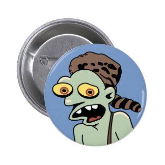 Hillbilly Zombie 6 Cm Round Badge