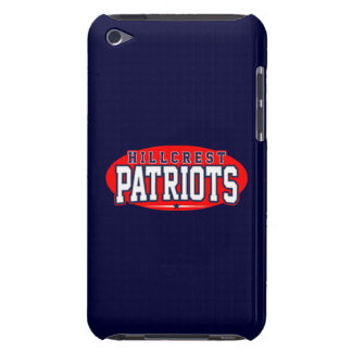 Hillcrest High School; Patriots iPod Touch Case-Mate Case
