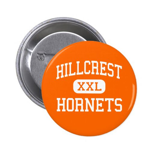 Hillcrest - Hornets - High - Springfield Missouri Button