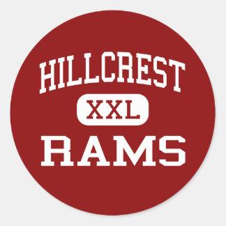 Hillcrest - Rams - High - Simpsonville Classic Round Sticker