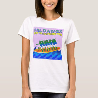 Hilldawgs Surf the Sea of Drumpf Tears T-Shirt