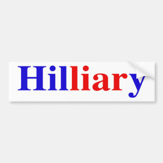 """Hilliary"" Bumper Sticker"