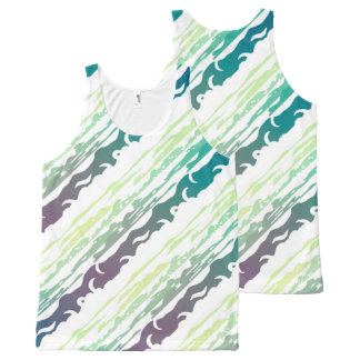 Hills Above the Clouds Landscape All-Over Print Singlet