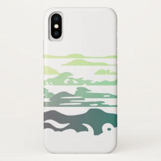 Hills Above the Clouds Landscape iPhone X Case