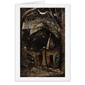 Hills By Samuel Palmer Card