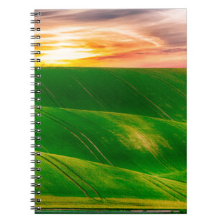Hills countryside sky rural notebooks