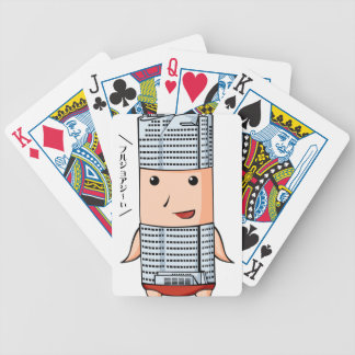 Hills English story Roppongi Hills Tokyo Bicycle Playing Cards