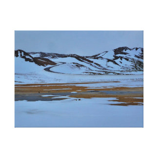 Hills in the Snow Gallery Wrapped Canvas