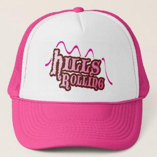 Hills Rolling - Trucker Hat in PINK