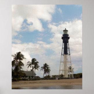 Hillsboro Inlet Light Tower Poster