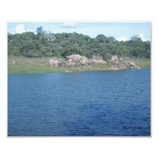 Hillside Dams Photo Print