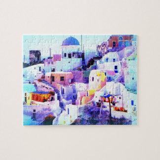 Hillside Greek Town Puzzle
