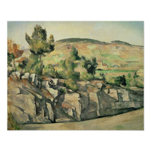 Hillside in Provence, c.1886-90 Posters