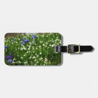 Hillside of Early Spring Flowers I Luggage Tag