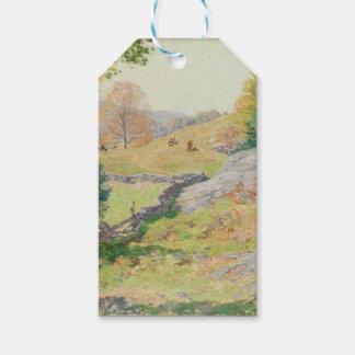 Hillside Pasture in September - Willard Metcalf