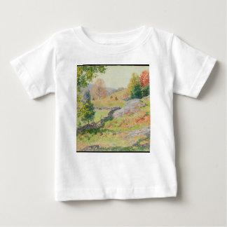 Hillside Pasture in September - Willard Metcalf Baby T-Shirt