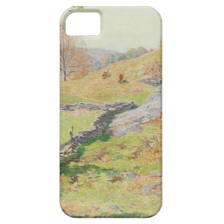 Hillside Pasture in September - Willard Metcalf iPhone 5 Cover