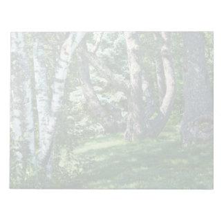Hillside Trees Notepad