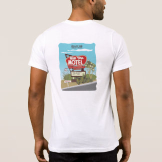 Hilltop Motel on Route 66 T-Shirt