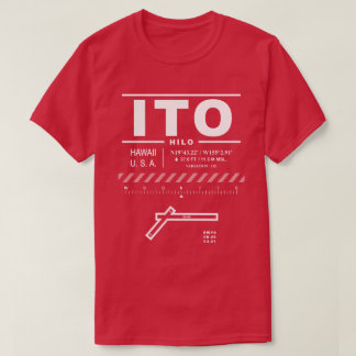 Hilo International Airport ITO T-Shirt