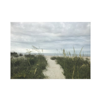 Hilton Head Beach Canvas Print