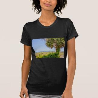 """hilton head georgia beach and ocean """"south beach"""" T-Shirt"""