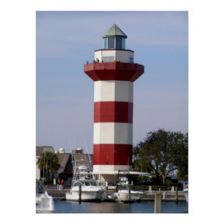 Hilton Head lighthouse Poster