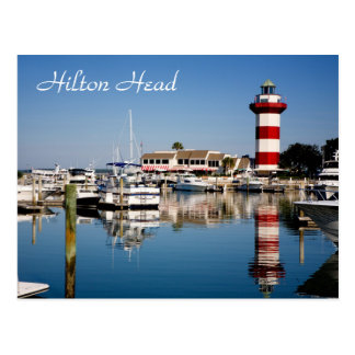 Hilton Head, SC  Harbour Town Lighthouse Postcard