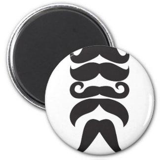 Him Moustache Fridge Magnet