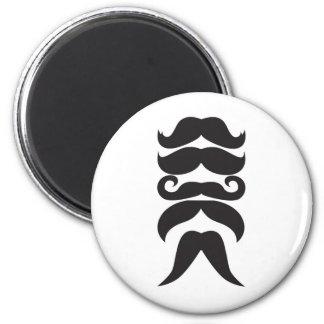 Him Moustache Refrigerator Magnets