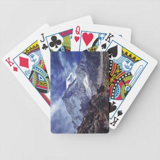 Himalaya Nepal India Mountains Tourism Bicycle Playing Cards