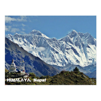 HIMALAYA - One of 1000 views from NEPAL Postcard