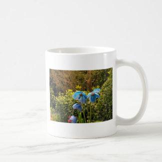 himalayan blue poppy mug