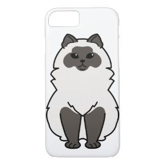 Himalayan Cat Cartoon iPhone 7 Case