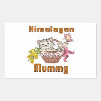 Himalayan Cat Mom Rectangular Sticker