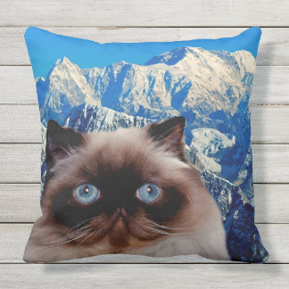 Himalayan Cat Outdoor Cushion