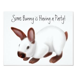 Himalayan Rabbit Invitation