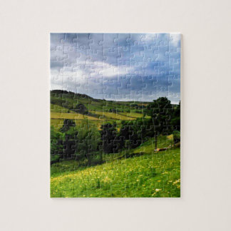 Hinchliffe Mill View Jigsaw Puzzle