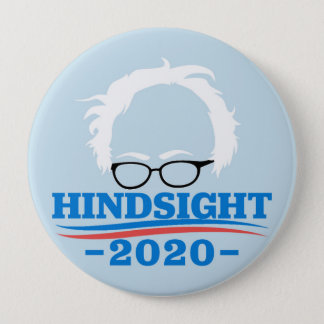 Hindsight 20/20 10 cm round badge